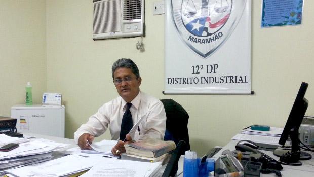 Neuton Correa delegado titular do  12º Distrito Policial de São Luís (Maranhão)