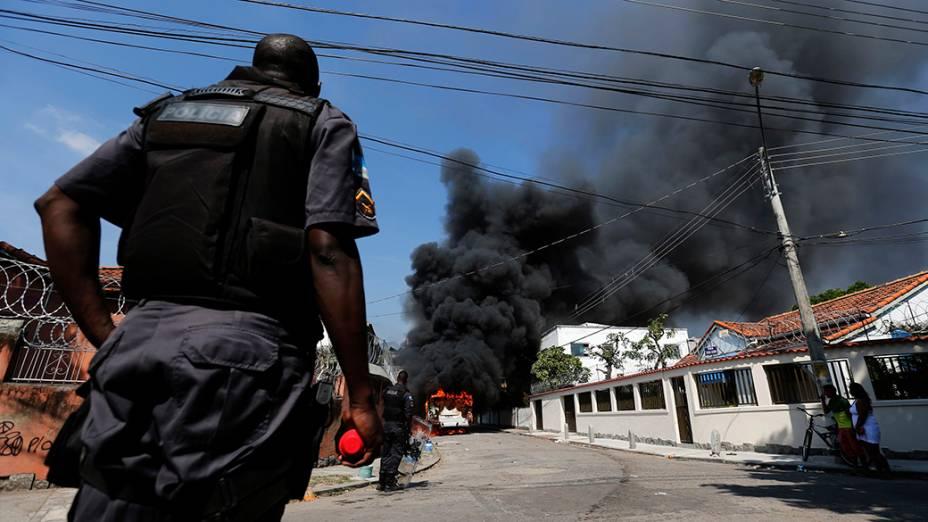 Reintegração de posse do terreno da empresa de telefonia Oi, situado no Engenho Novo, Zona Norte do Rio