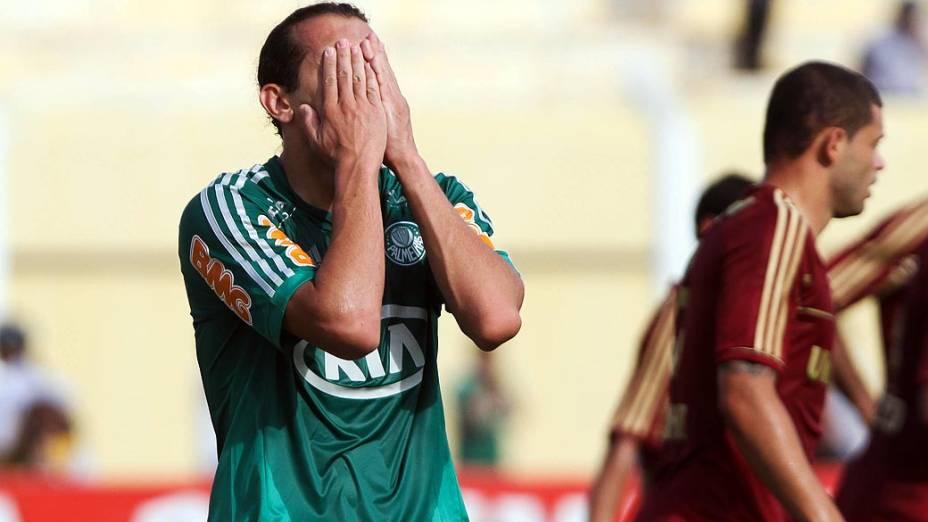 Palmeiras x Fluminense, durante partida válida pelo Campeonato Brasileiro 2012
