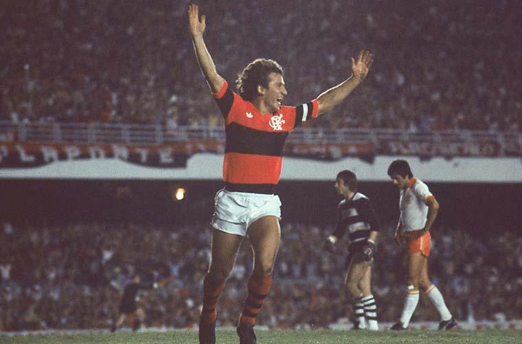 Em 1981, o Flamengo foi campeão vencendo o Cobreloa, equipe chilena.