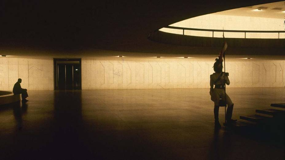Vista interna do Palácio do Planalto, em Brasília