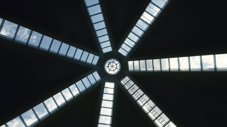 Interior de catedral em Brasília