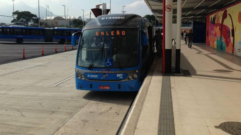 O BRT Transcarioca: primeiro transporte de massa ligado ao Aeroporto do Galeão
