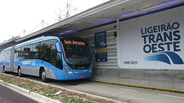 BRT Transoeste foi inaugurado em junho
