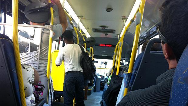 BRT Transoeste: trecho Santa Cruz-Alvorada é tranquilo no fim da tarde