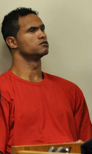 Goleiro Bruno no segundo dia de julgamento