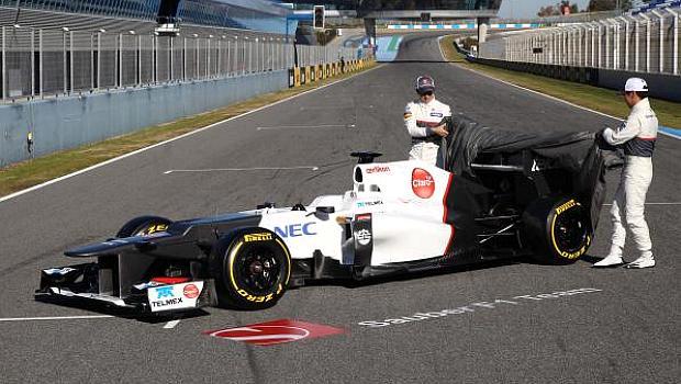 C31, carro da Sauber para temporada 2012