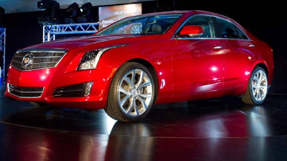 Cadillac ATS - O menor Cadillac das últimas décadas chega com motores quatro cilindros e V6, luxo e ambição para roubar clientes do BMW Série 3 nos Estados Unidos e Canadá