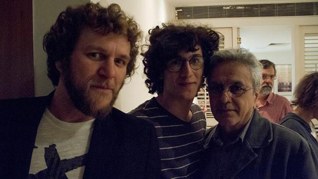 Otto, Caetano Veloso e seu filho, Tom