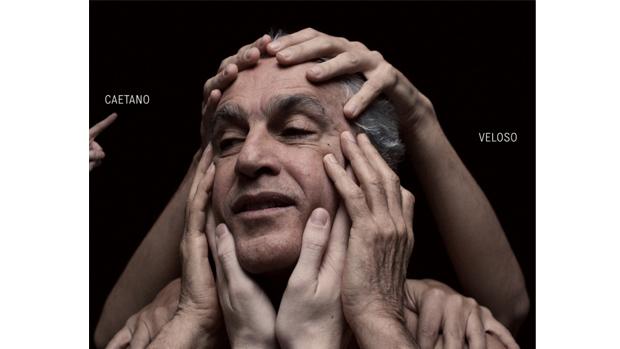 Capa do disco Abraçaço, de Caetano Veloso