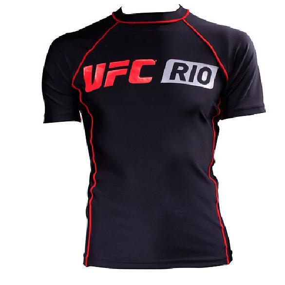 Camisa de lycra UFC Rio: 119,90 reais