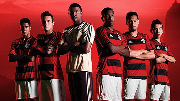 Nova camisa do Flamengo da Adidas 2013
