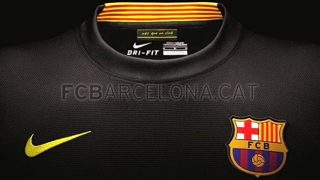Terceiro uniforme do Barcelona para a temporada 2013-2014
