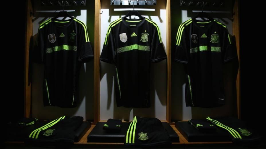 Camisas alternativas na Copa do Mundo de 2014: Espanha
