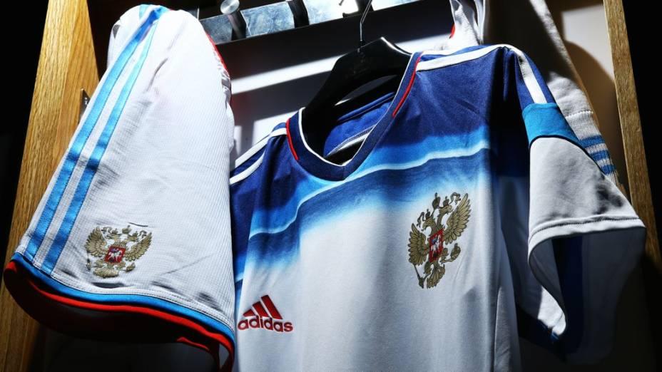 Camisas alternativas na Copa do Mundo de 2014: Rússia