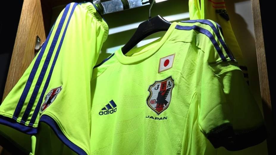 Camisas alternativas na Copa do Mundo de 2014: Japão