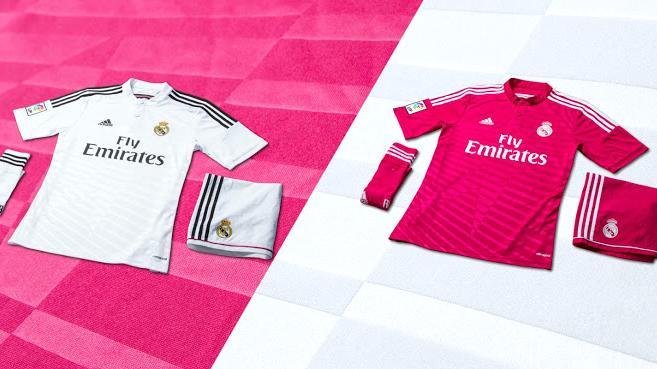 Adidas lança novos uniformes do Real Madrid