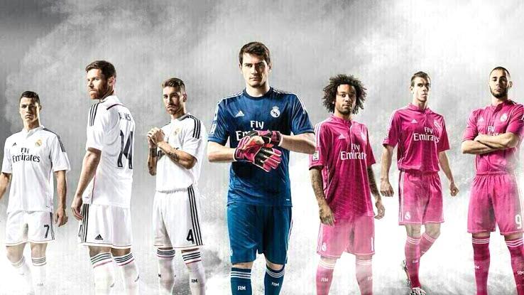 Adidas lança uniformes do Real Madrid em tons de rosa
