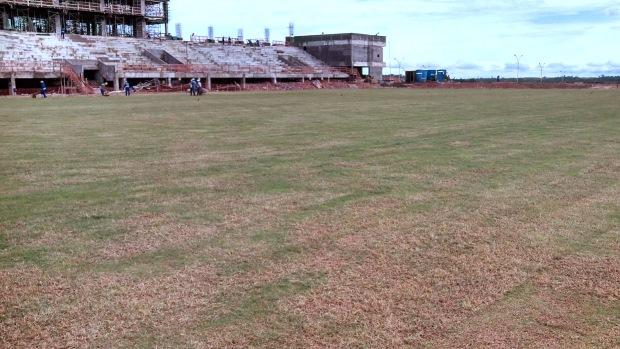 Campo Oficial de Treinamento do Pari, onde seleções devem treinar para Copa do Mundo em Cuiabá (MT)