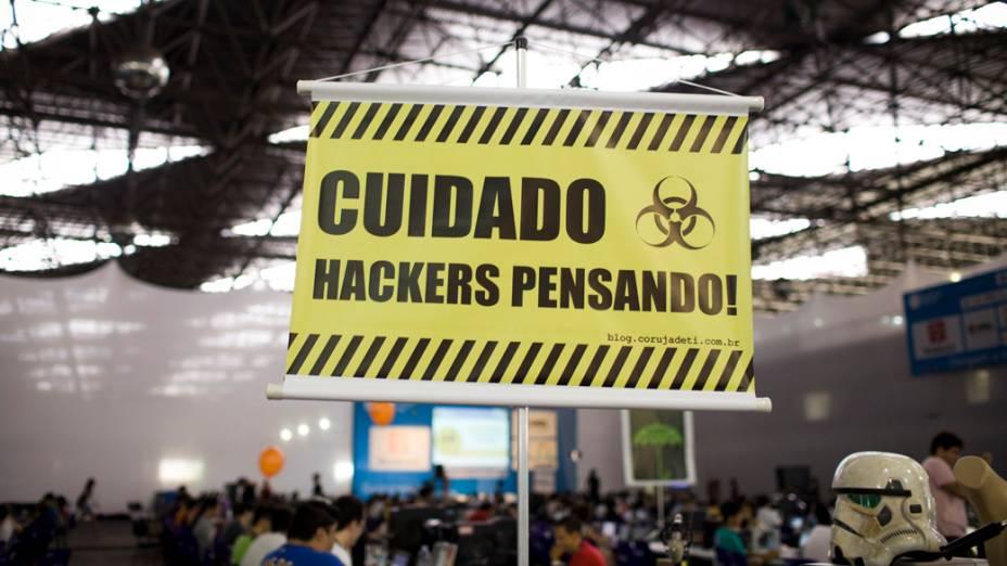 Segundo dia da Campus Party no Parque Anhembi, São Paulo
