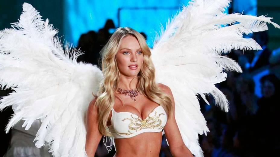 10º lugar - Modelo Candice Swanepoel