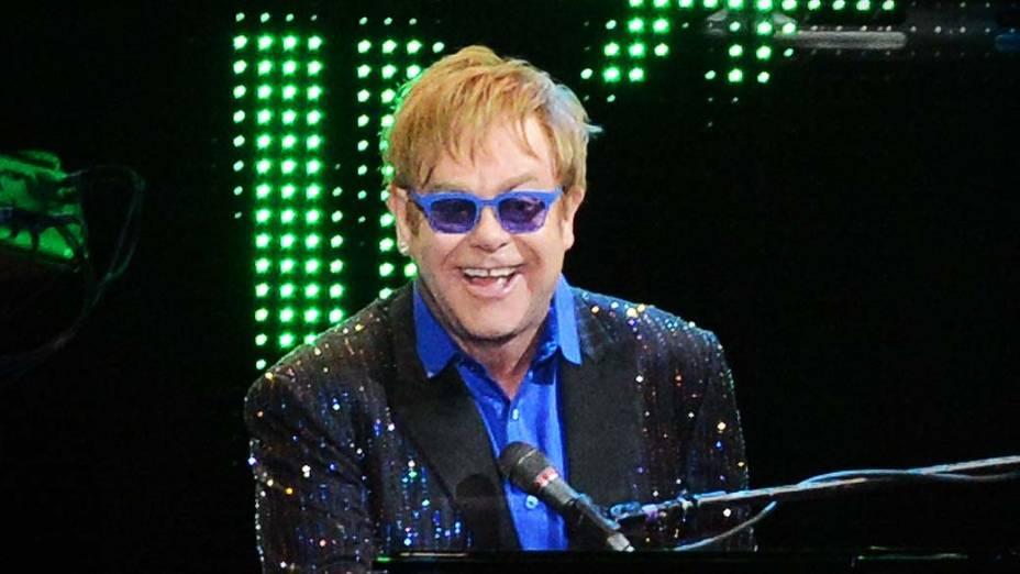 Apresentação de Elton John em São Paulo