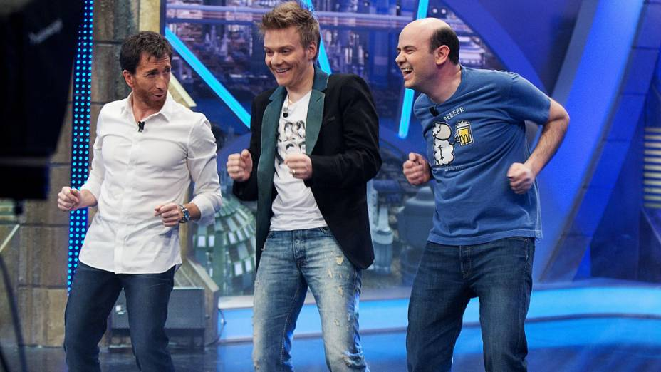 """Michel Teló participa do programa da TV espanhola """"El Hormiguero"""""""