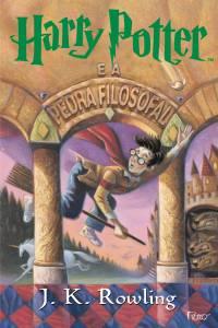 Capa da edição brasileira de 'Harry Potter e a Pedra Filosofal'