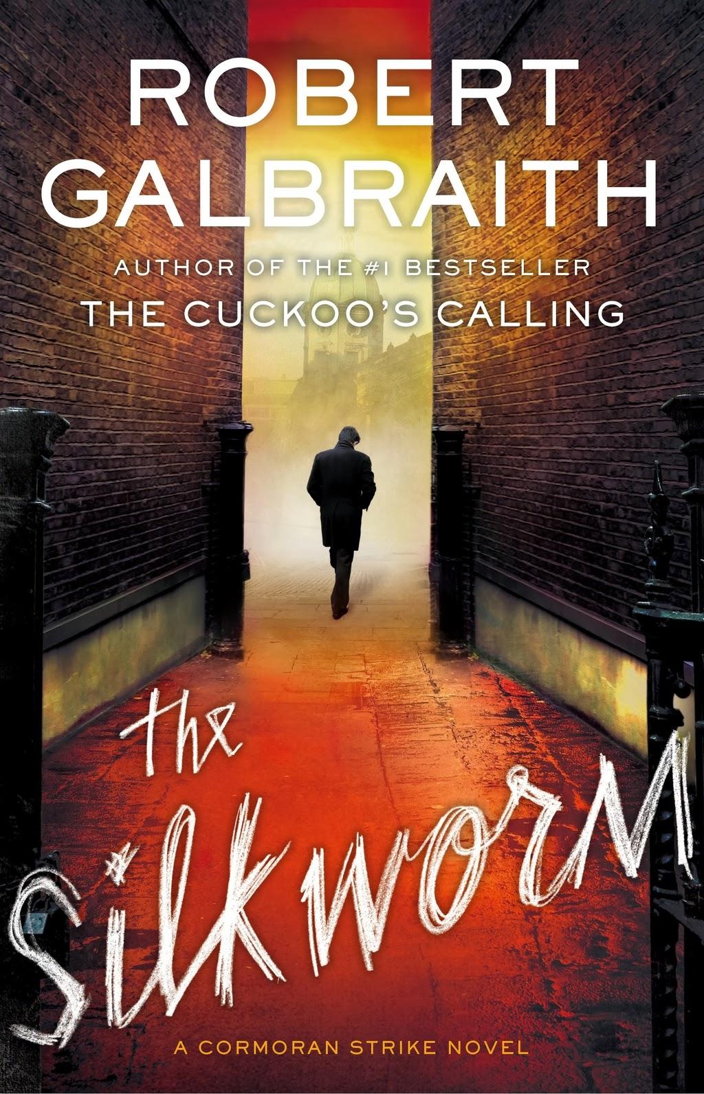 Capa do livro 'The Silkworm', da escritora J.K. Rowling