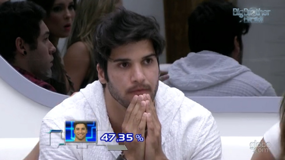 Marcello deixou a casa do BBB 13