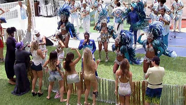 Show do Neguinho da Beija-Flor, no BBB 13