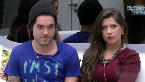 Nasser e Andressa: casal se enfrenta no paredão que também terá a miss Kamilla