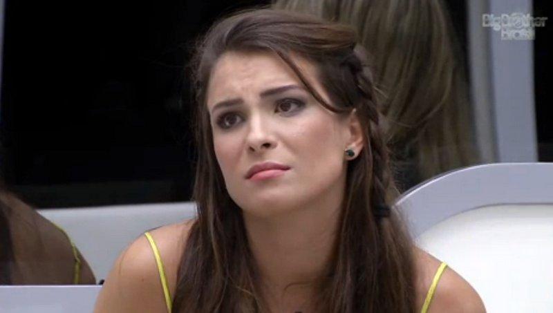 Kamilla ouve a notícia que está fora do BBB: fim de linha para a miss