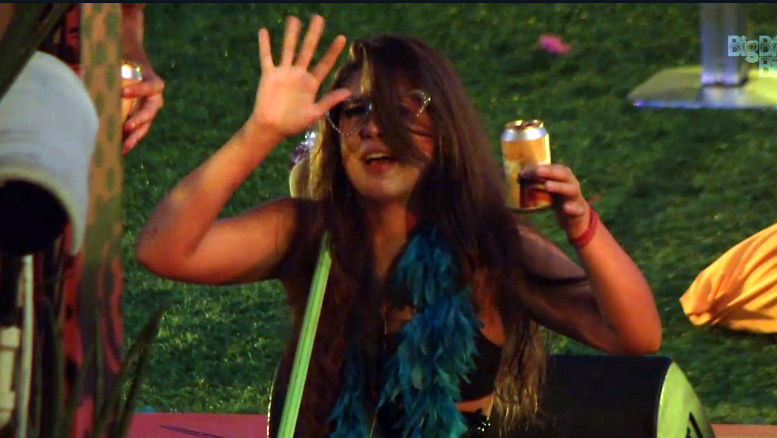 Andressa: bebida turbinou a santinha do BBB13