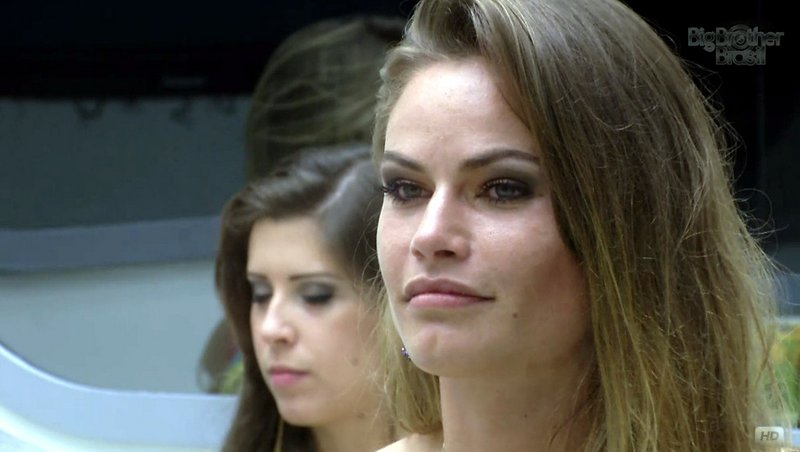 Natália foi a última veterana a deixar a casa do Big Brother