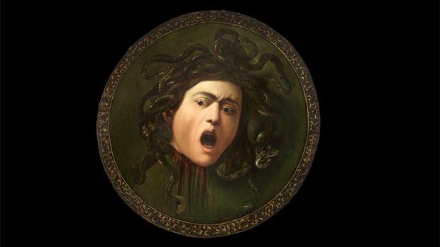 Tela <em>Medusa Murtola</em>, de Caravaggio