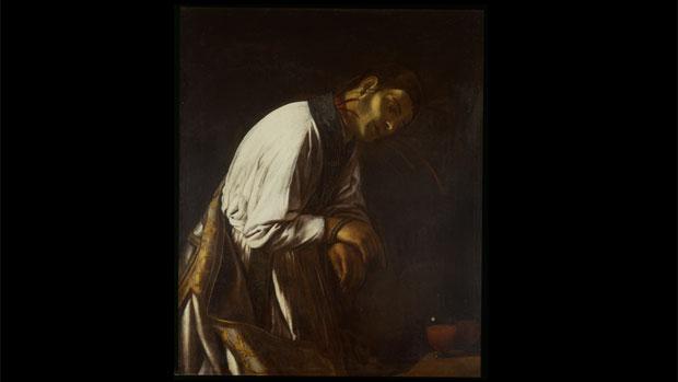 Tela <em>São Januário Degolado</em>, de Caravaggio