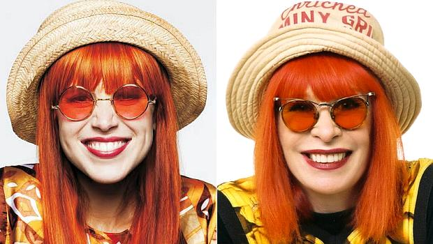 Caracterização deixou Mel Lisboa muito parecida com Rita Lee