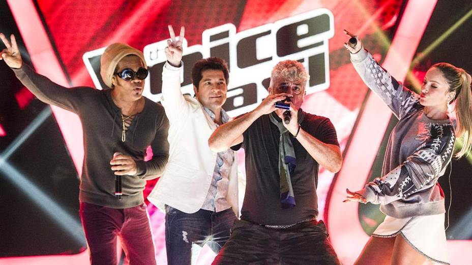 Carlinhos Brown, Daniel, Claudia Leitte e Lulu Santos comandam a segunda temporada de The Voice Brasil
