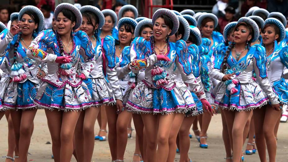 <br><br>  <br>    Carnaval de Oruro, na Bolívia