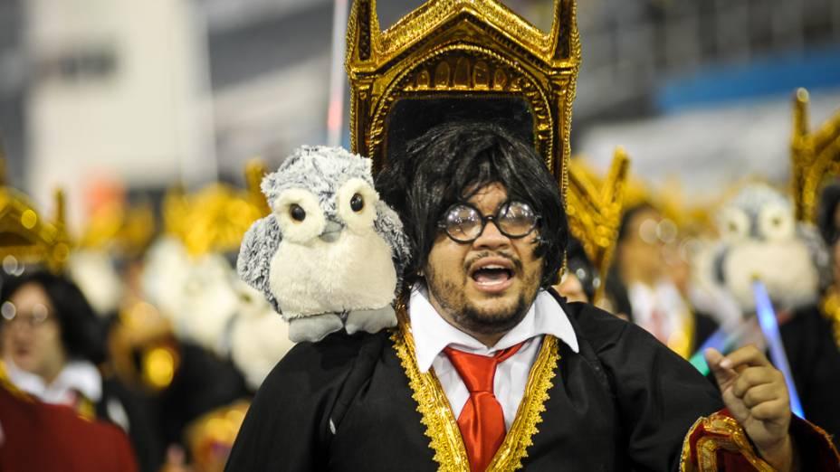 Desfile da Dragões da Real, em São Paulo