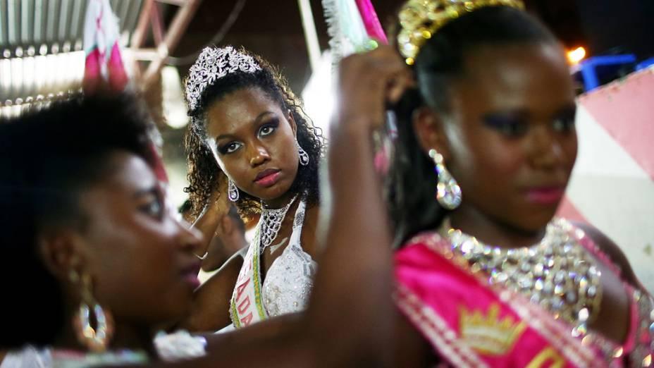 Ensaio da escola de samba Alegria da Zona Sul, no Rio de Janeiro