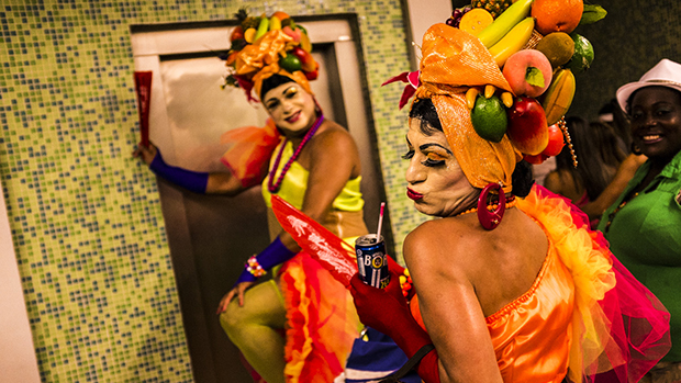 Foliões do bloco Banda de Ipanema, no Rio de Janeiro