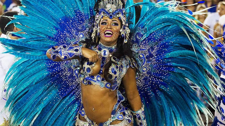 Raíssa de Oliveira, rainha da bateria da Beija-Flor