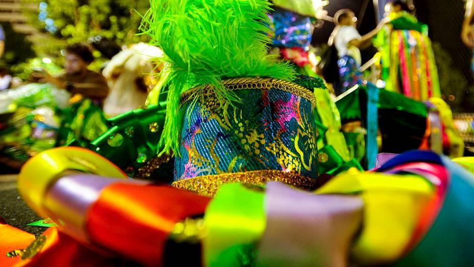 Império da Tijuca durante Desfiles das Escolas de Sambas do Grupo Especial do Carnaval do Rio de Janeiro 2014