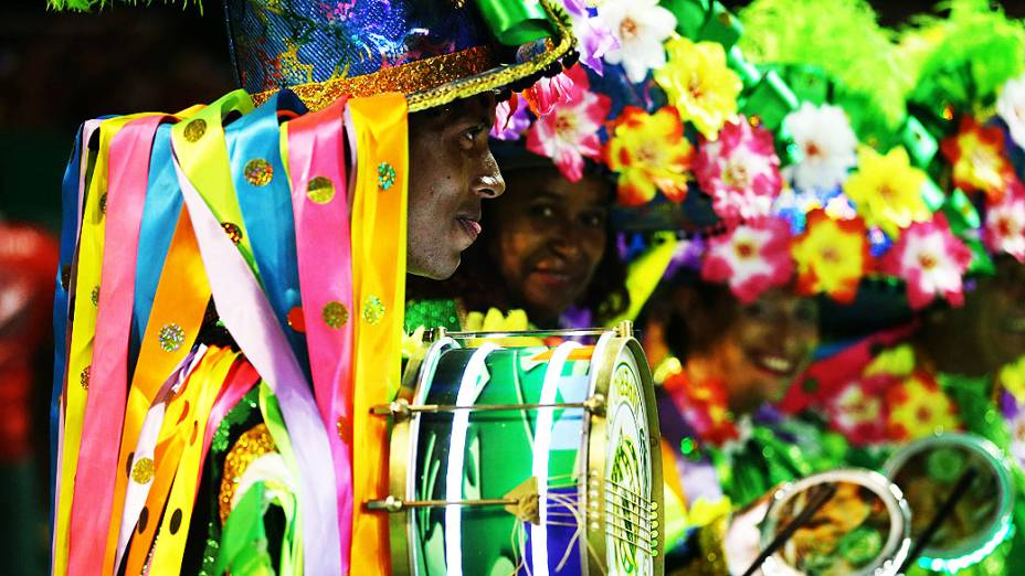 Escola de samba Império da Tijuca, durante Desfiles das Escolas de Sambas do Grupo Especial do Carnaval do Rio de Janeiro 2014