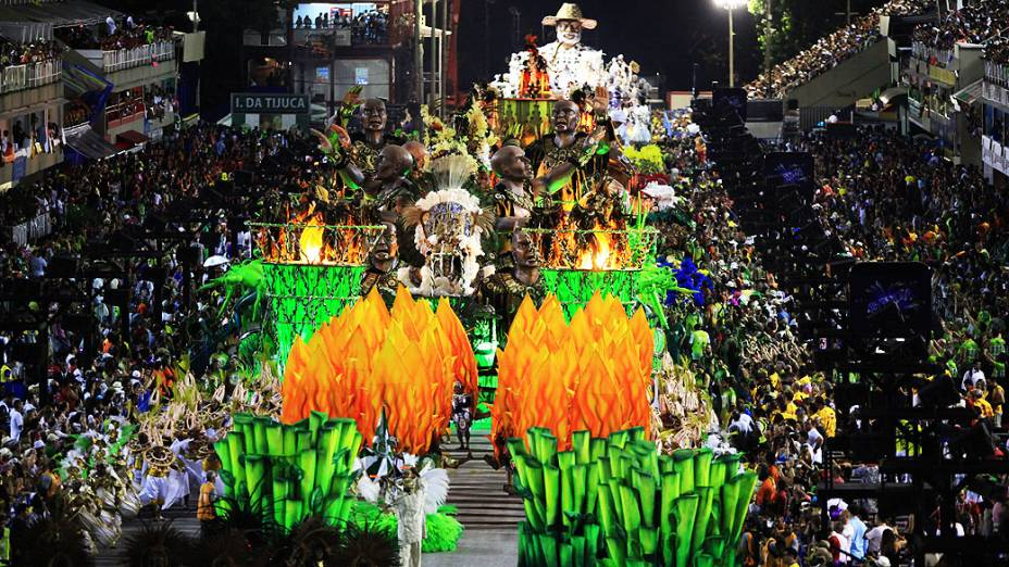 Império da Tijuca, durante Desfiles das Escolas de Sambas do Grupo Especial do Carnaval do Rio de Janeiro 2014