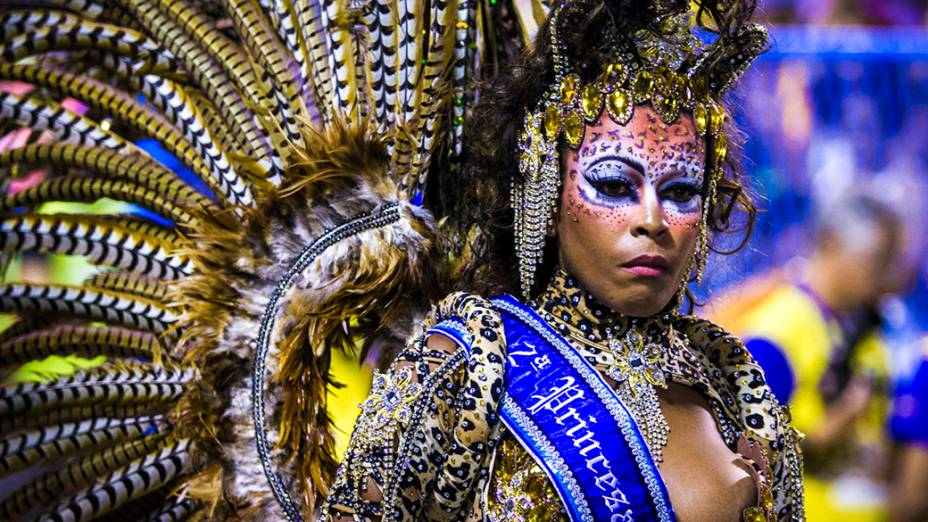 A escola de samba Império da Tijuca foi a primeira a desfilar, no Rio de Janeiro