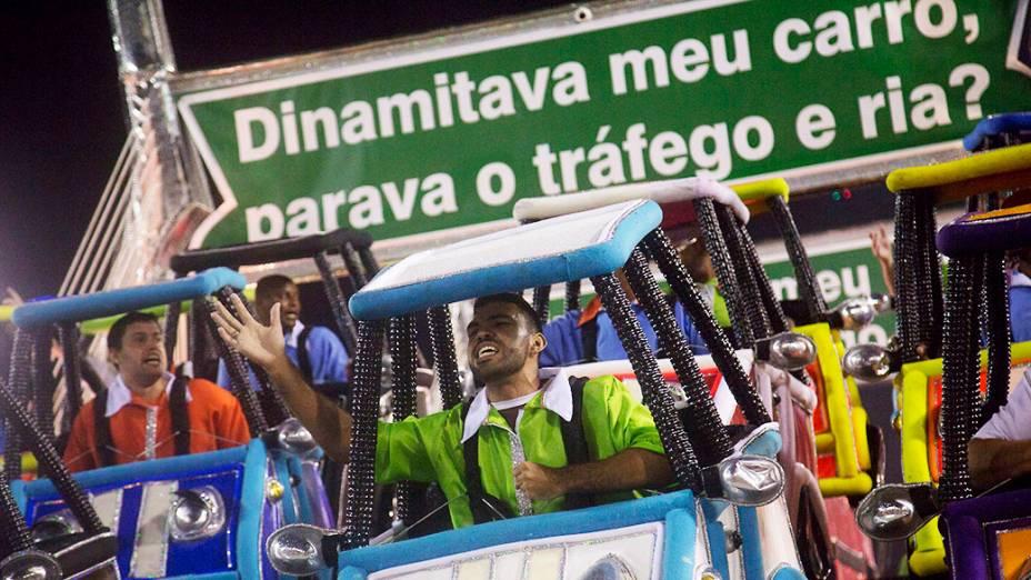 """Mocidade Independente traz como samba-enredo """"Se o mundo fosse acabar, me diz o que você faria se só te restasse um dia?"""""""