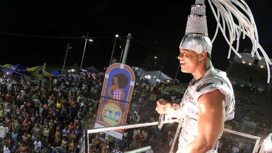 Léo Santana do Paramgolé no Carnaval de Salvador